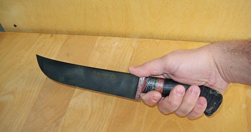 Как отковать нож в домашних